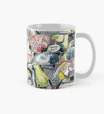 Parrots Comic Style Mug