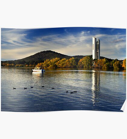 Lake Burley Griffin - Canberra Poster
