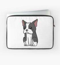 Boston Terrier Cute Cartoon Laptop Sleeve