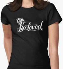 Beloved (White) Women's Fitted T-Shirt