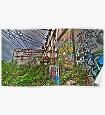 Graffic Jungle Poster