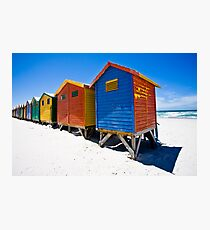 Muizenberg Beach Huts #2 Photographic Print