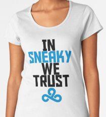 In Sneaky We Trust Women's Premium T-Shirt