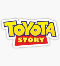 Toyota Story Sticker