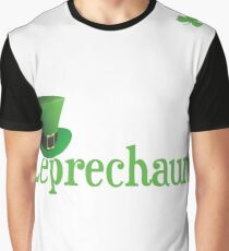 Leprechaun and St. Patricks Day  Graphic T-Shirt