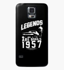 Legends Are Born In 1957 Case/Skin for Samsung Galaxy