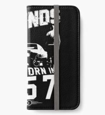Legends Are Born In 1957 iPhone Wallet/Case/Skin