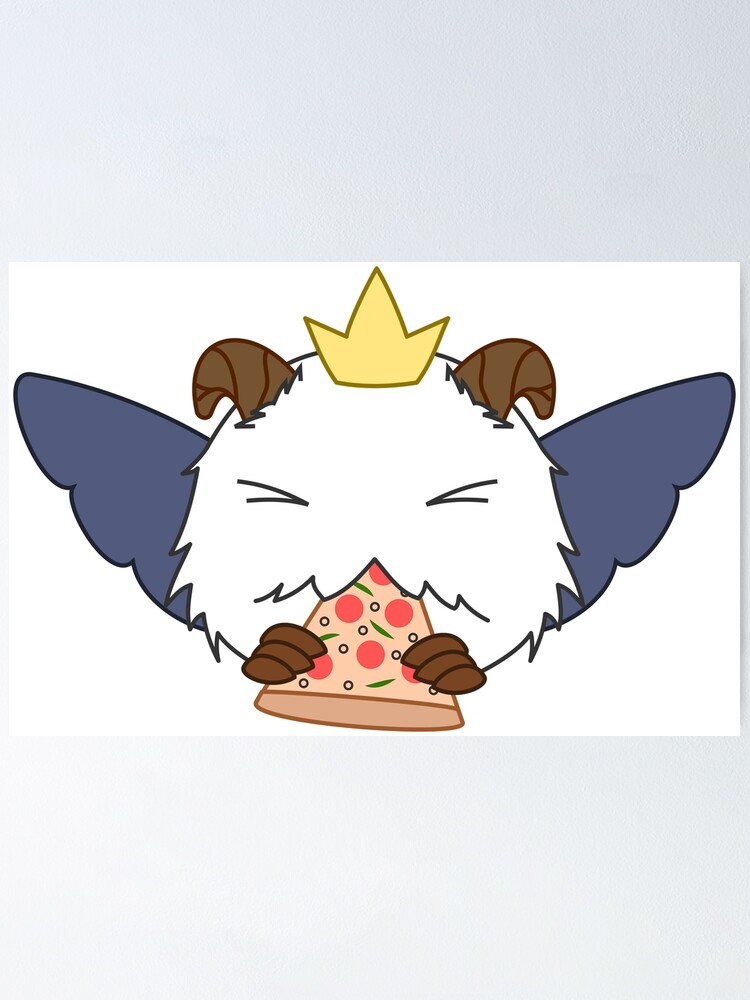 Poro Logo From Sivir Pizza Delivery Skin Poster