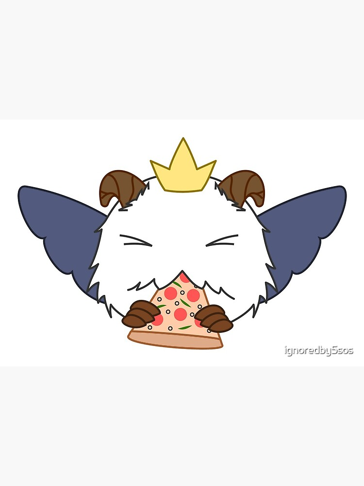 Poro Logo From Sivir Pizza Delivery Skin Art Board Print By Ignoredby5sos