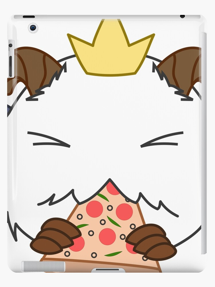 Poro Logo From Sivir Pizza Delivery Skin Ipad Caseskin By Ignoredby5sos