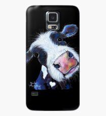 COW PRINT 'nosy BERTHA BEETROOT' VON SHIRLEY MacARTHUR Hülle & Klebefolie für Samsung Galaxy