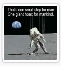 Moon Beams Glossy Sticker