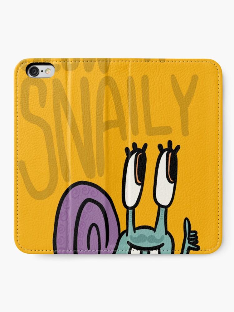 Alternative Ansicht von Langsam 'n' Snaily iPhone Flip-Case