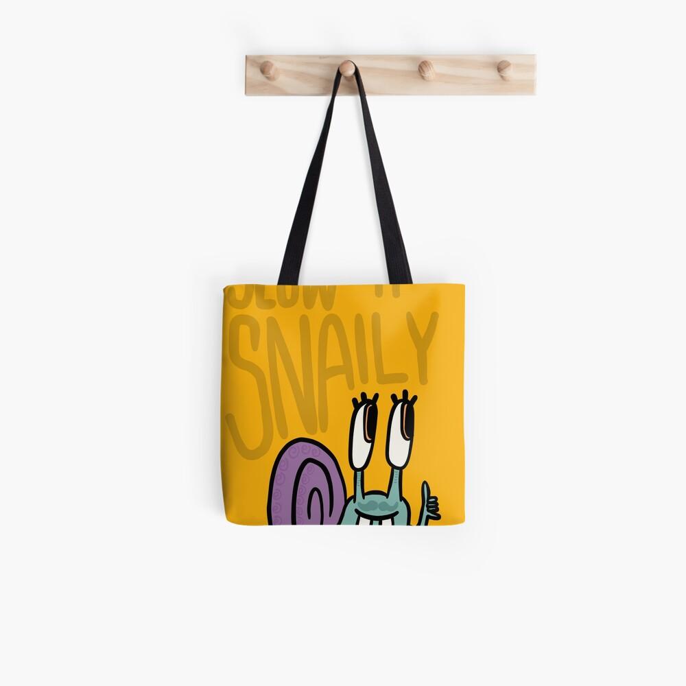 Langsam 'n' Snaily Tote Bag
