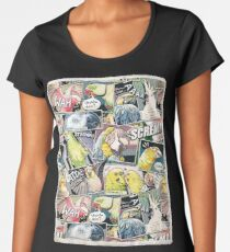 Parrots Comic Style Women's Premium T-Shirt