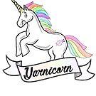 Yarnicorn knitting unicorn by GamerCrafting