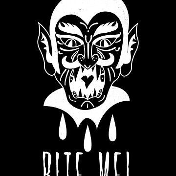 Vampire Bite Me by mazemischief