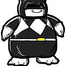 black pokeranger snorelax by Jonah Block