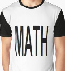 Math, Mathematics, education, science, pattern, design, tracery, weave Graphic T-Shirt
