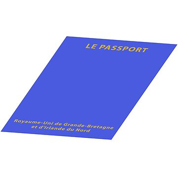 Will your next passport be printed in France? Dark shirt by MikeWhitcombe