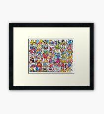 HeMan and the Gang Framed Print