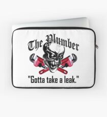 Plumber Skull 5: Gotta Take a Leak Laptop Sleeve