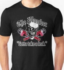 Plumber Skull 5: Gotta Take a Leak Unisex T-Shirt