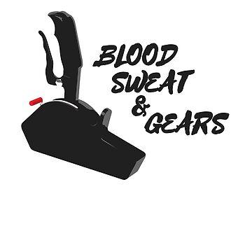 Blood Sweat & Gears by antdragonist