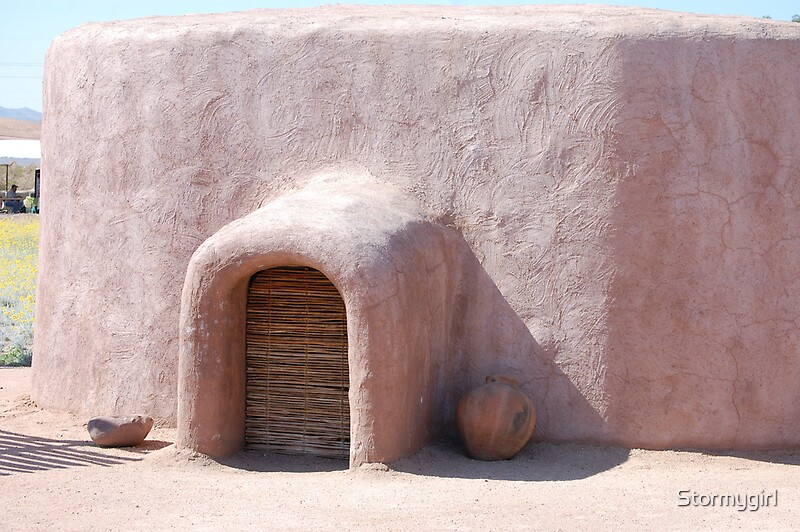 Quot Hohokam Pithouse Quot By Stormygirl Redbubble