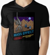 NEStalgia: Mass Effect Men's V-Neck T-Shirt