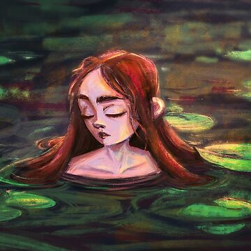 Girl of the lake by Marsill