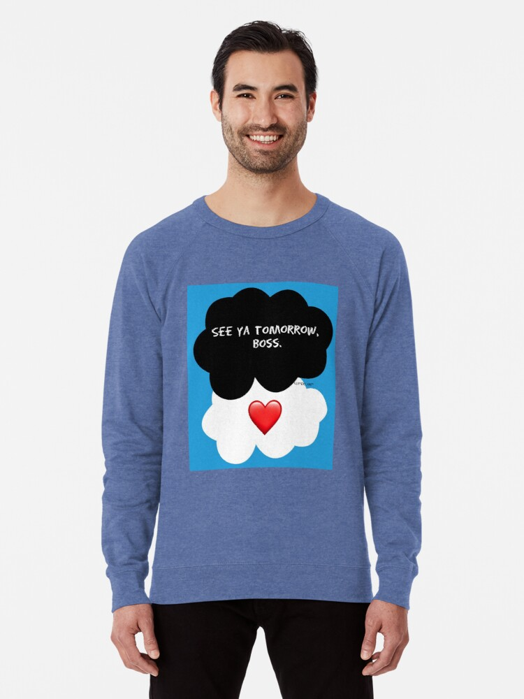 'Supercorp - The Fault in Our Stars' Lightweight Sweatshirt by  Castleinthemoon