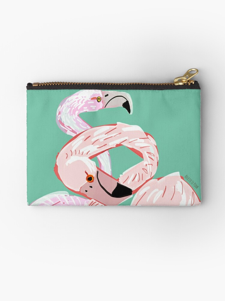 A flamingo never changes his Pink by belettelepink
