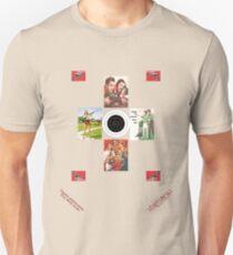 Classic Americana, Fun with Guns. Unisex T-Shirt