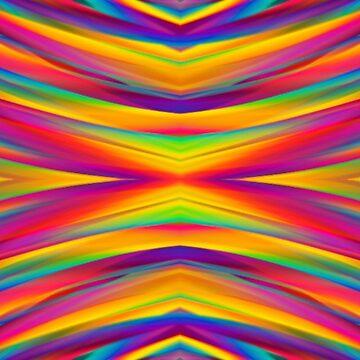 Rainbow Eye Pattern by RainBowEscence