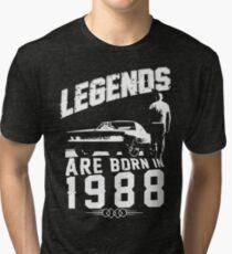 Legends Are Born In 1988 Tri-blend T-Shirt