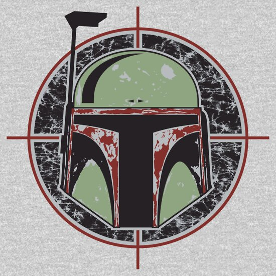 TShirtGifter presents: Boba Fett, Bounty Hunter T-Shirt