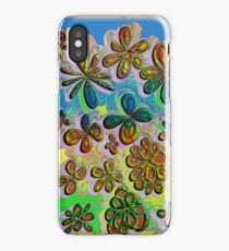 Love in the Flowers  iPhone Case