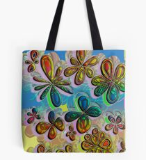 Love in the Flowers  Tote Bag