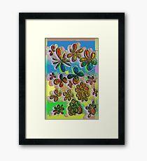 Love in the Flowers  Framed Print