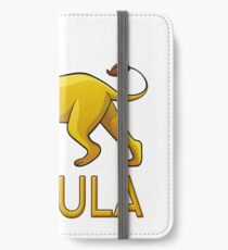 Ursula Lion Drawstring Bags iPhone Wallet/Case/Skin