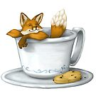 Coffee Fox by Nora Back