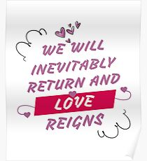 Póster Love will return T-Shirts Gifts