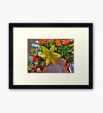Boston in Blooms - Lillis  Framed Print