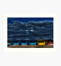 West Wittering - Beach Huts Art Print