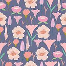 Cute floral vintage pattern. by Senpo