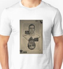 Ozwald Ruby Playing Card Unisex T-Shirt