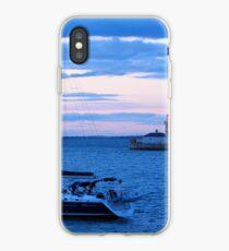 Sailboat in Dublin Bay iPhone Case