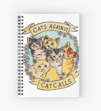 Cats Against Cat Call Trending Spiral Notebook