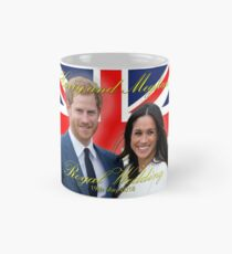 HRH Prince Harry and Meghan Markle Royal Wedding Memorabilia - Pro Photo Mug